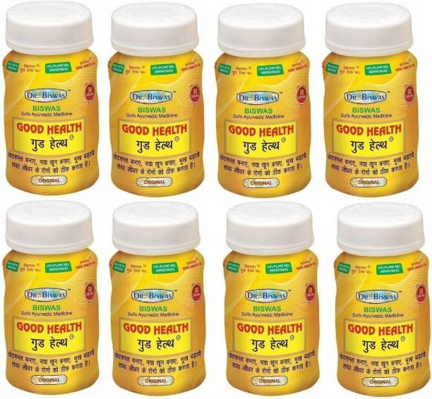 Dr. Biswas Good Health Ayurvedic Medicine (Pack of 8)