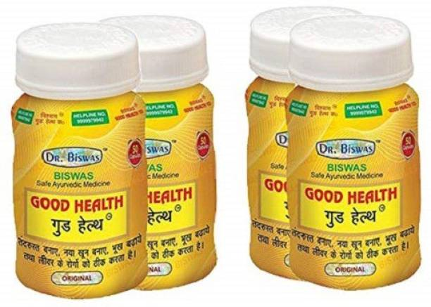 Dr. Biswas Good Health Ayurvedic Medicine (Pack of 4)