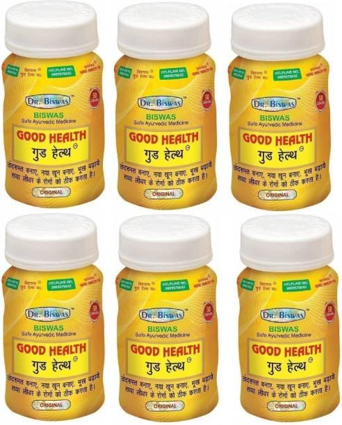 Dr. Biswas Good Health Ayurvedic Medicine (Pack of 6)