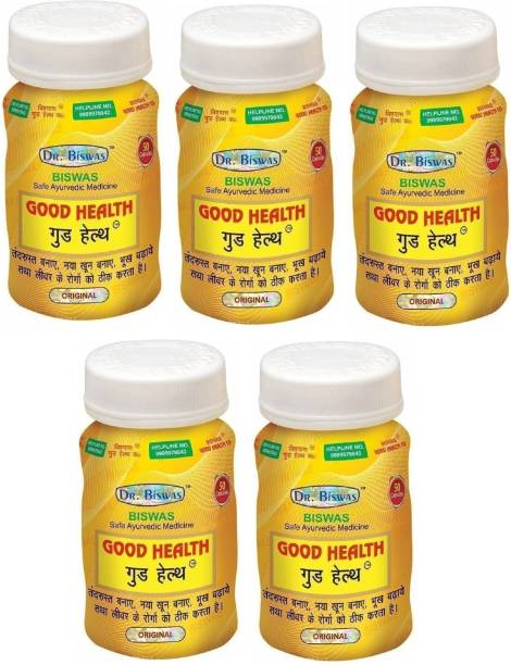 Dr. Biswas Good Health Ayurvedic Medicine (Pack of 5)