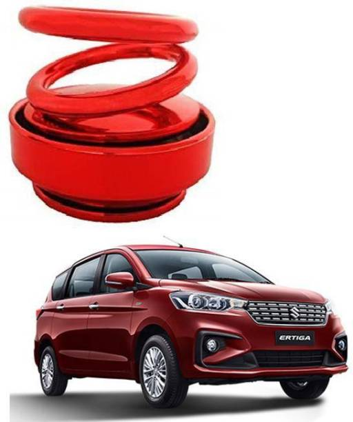 KARDECK Solar Car Fragrance Double Ring Rotating Car Aromatherapy Home Office Air Fresher Decoration Perfume Diffuser For ERTIGA-Red Air Purifier