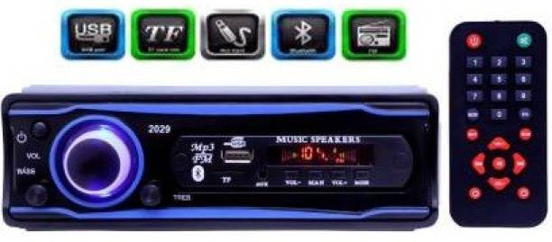 Dvis Universal Fit Mp3 Car Stereo with Bluetooth/USB/FM/AUX/MMC/Remote Car Stereo