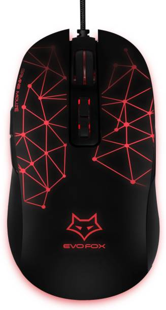 AMKETTE Evo Fox Phantom Wired Optical  Gaming Mouse