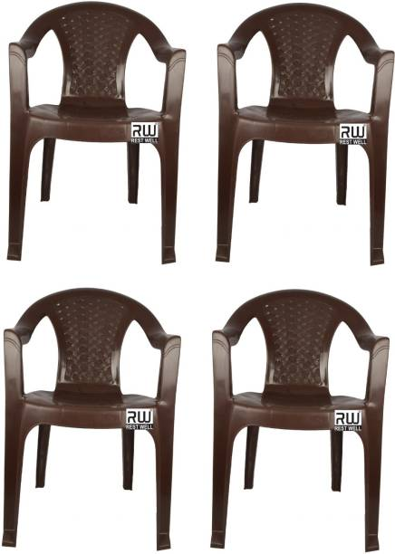 RW REST WELL Nano Mid Back Plastic Outdoor Chair