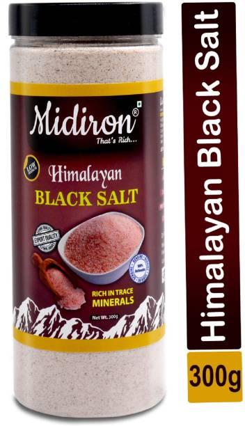 Midiron Premium Quality Himalayan Black Salt Powder Kala Namak Black Salt