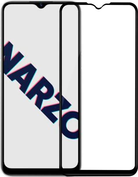 Hupshy Edge To Edge Tempered Glass for Realme Narzo 10A
