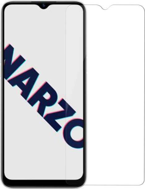 Hupshy Tempered Glass Guard for Realme Narzo 10A