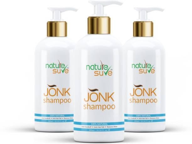 Nature Sure Jonk Shampoo Hair Cleanser for Men & Women – 3 Packs (300ml Each)