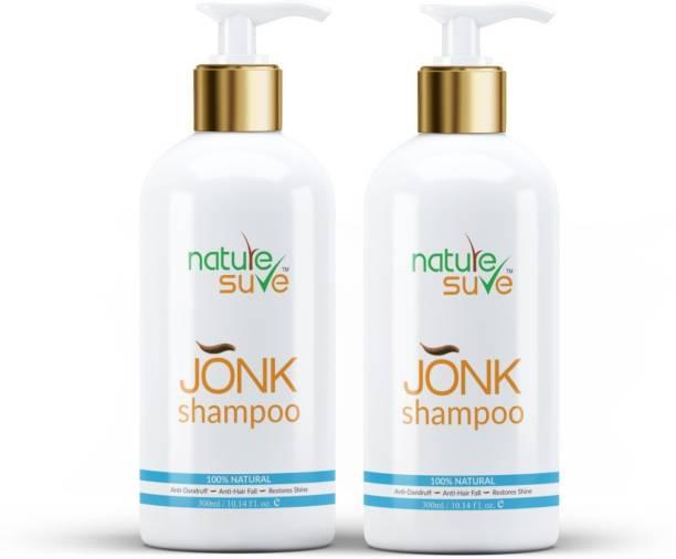 Nature Sure Jonk Shampoo Hair Cleanser for Men & Women – 2 Packs (300ml Each)