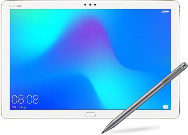 Huawei MediaPad M5 Lite With stylus 3 GB RAM 32 GB ROM 10.1 inch with Wi-Fi+4G Tablet (Champagne Gold)