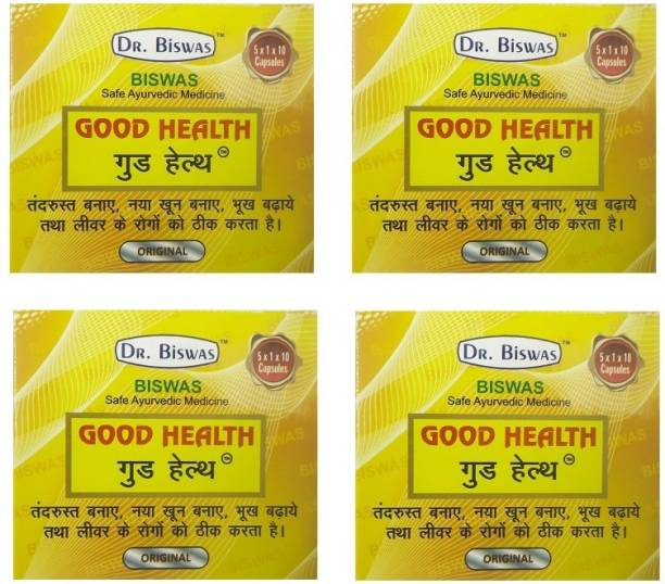 Dr. Biswas GOOD HEALTH NEW BLISTER PACKING