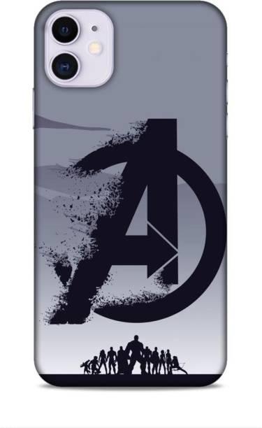 MAPPLE Back Cover for Apple iPhone 11 (Avengers / Marvel / A / Letter / Superhero)