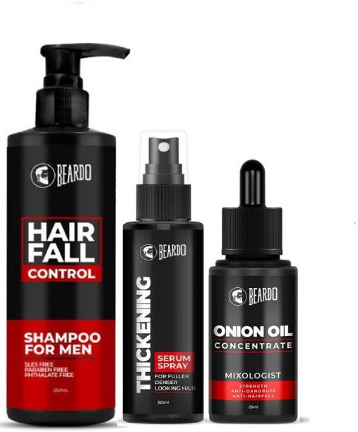 BEARDO Hair Thickening Combo