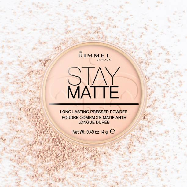Rimmel London Stay Matte Pressed Powder - Pink Blossom, 8.5 g (0.3 fl.oz) Compact