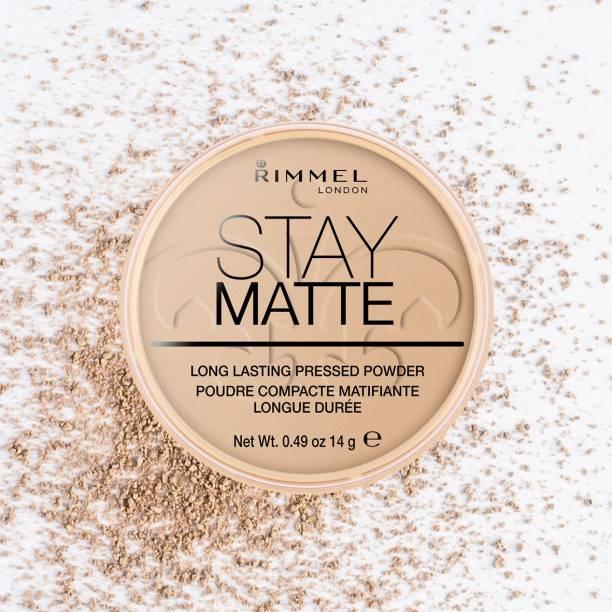 Rimmel London Stay Matte Pressed Powder - Sandstorm, 8.5 g (0.3 fl.oz) Compact