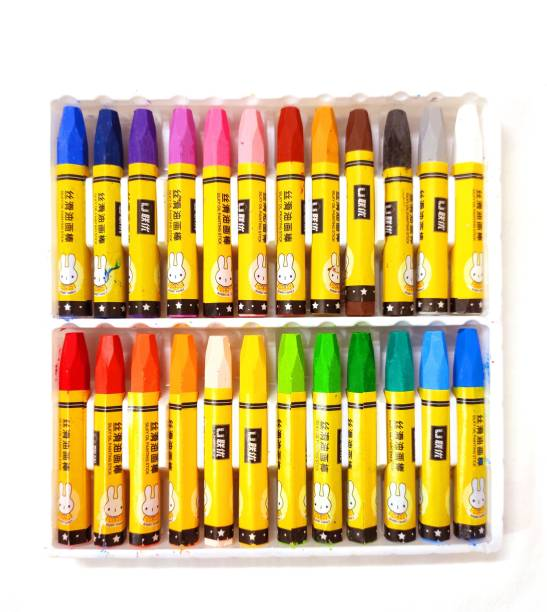 poksi SILKY OIL PAINTING STICK COLORS 24 SHADES