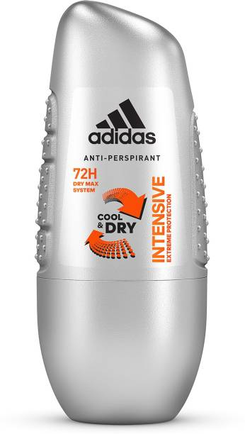 ADIDAS INTENSIVE COOL & DRY Deodorant Roll-on  -  For Men