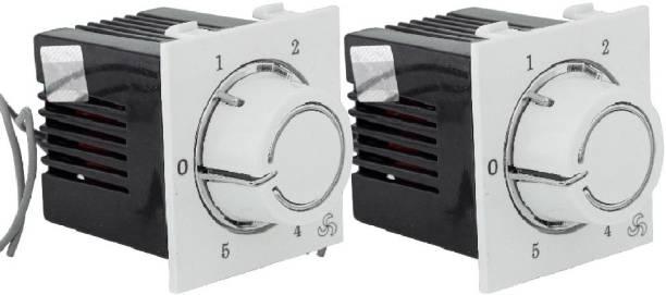 HI-PLASST (2 pcs) Socket Redex Modular 5-step Step-Type Button Regulator