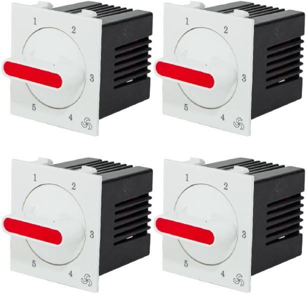 HI-PLASST (4pcs) Socket Redex Modular 5-step Step-Type Button Regulator