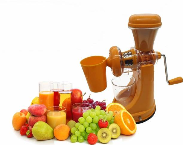 STUNNER Plastic Hand Juicer Fruit And Vegetable Mixer Juicer And Manual Hand Press Stainless Steel Handle Juicer