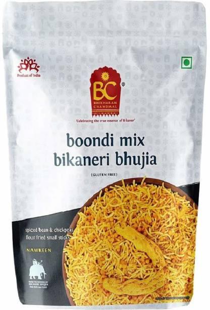 BHIKHARAM CHANDMAL Boondi Mix Bhujia 1kg (Pack of 1)