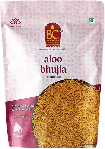 BHIKHARAM CHANDMAL Aloo Bhujia 1kg Pack (Pack of 1)