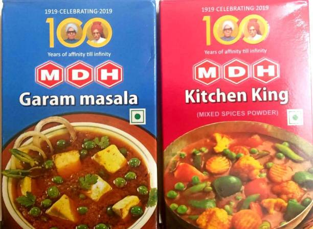 MDH GARAM MASALA 100 G + KITCHEN KING MASALA 100 G