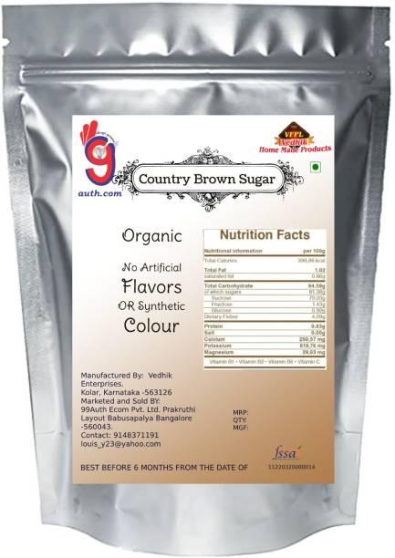 99Auth No Sulphur No Chemical Premium High Quality Brown Sugar 2kg Sugar