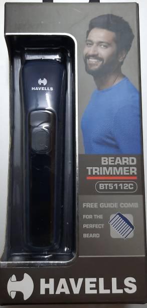 HAVELLS BT5112C  Runtime: 45 min Trimmer for Men & Women