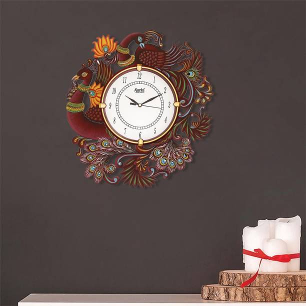AJANTA Analog 33 cm X 33 cm Wall Clock