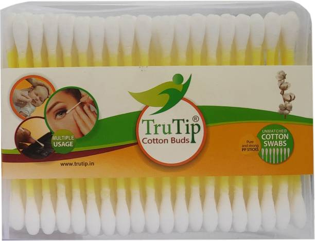 Trutip Cotton Ear Buds 100% Pure & Soft Cotton