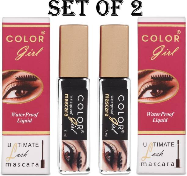Color Girl Black Waterproof Ultimate Lash Mascara Set Of 2 16 ml