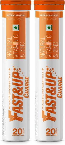 Fast&Up Charge Vitamin C Effervescent Tablets