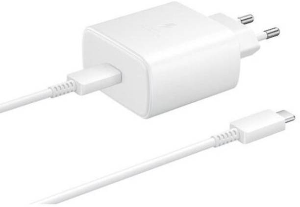 SAMSUNG EP-TA845XWNGIN 45 W 3 A Multiport Mobile Charger with Detachable Cable