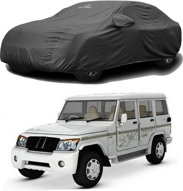 CARMATE Car Cover For Mahindra Bolero (With Mirror Pockets)
