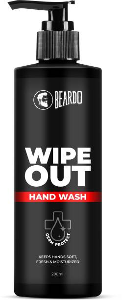 BEARDO Wipeout Hand Wash Hand Wash Pump Dispenser