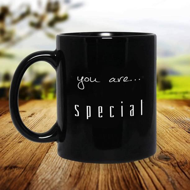 purezento You Are Special Black design attractive mug Ceramic Coffee Mug