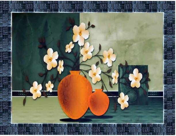 LiveArts Floral Art Digital Reprint 10.5 inch x 13.5 inch Painting