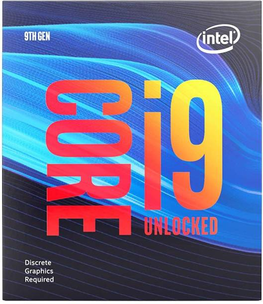 Intel Core i9-9900KF 9th Generation 3.6 GHz Upto 5 GHz LGA 1151 Socket 8 Cores 16 Threads 16 MB Smart Cache Desktop Processor