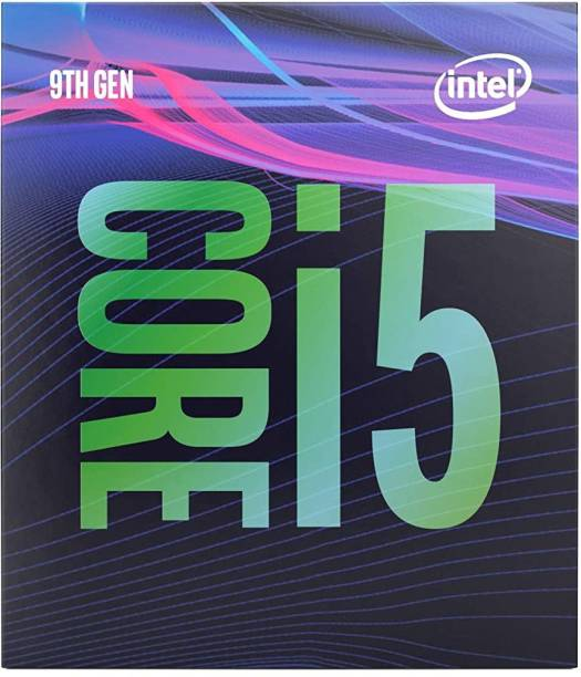 Intel Core i5-9400 9th Generation 2.9 GHz Upto 4.8 GHz LGA 1151 Socket 6 Cores 6 Threads 9 MB Smart Cache Desktop Processor
