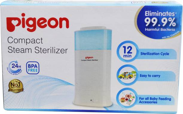 Pigeon STEAM STERILIZER & COMPACT TYPE 2 ROUND PIN(AD) - 2 Slots
