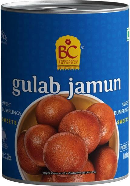 BHIKHARAM CHANDMAL Gulab jamun Tin - (Pack of 1) Tin