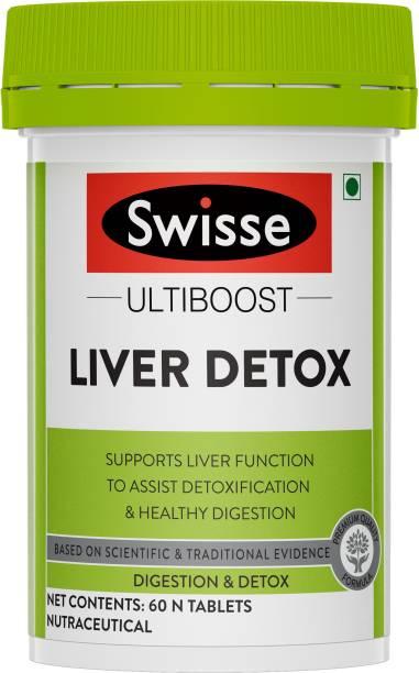 Swisse Liver Detox Supplement for Complete Liver Support, Cleansing and Detox