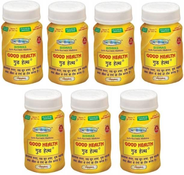 Dr. Biswas Good Health Ayurvedic Medicine (Pack of 7)