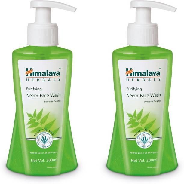 HIMALAYA PURIFYING NEEM FACE WASH 200ml (combo pack) Face Wash