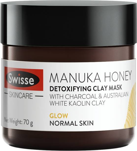Swisse Manuka Honey Detoxifying Clay Mask glow