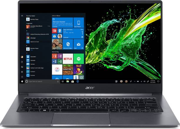 acer Swift 3 Core i5 10th Gen - (8 GB/512 GB SSD/Windows 10 Home/2 GB Graphics) SF314-57G-59RE Thin and Light Laptop