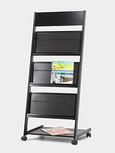 4square Floor Standing Magazine Holder