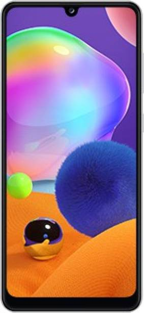 SAMSUNG Galaxy A31 (Prism Crush White, 128 GB)