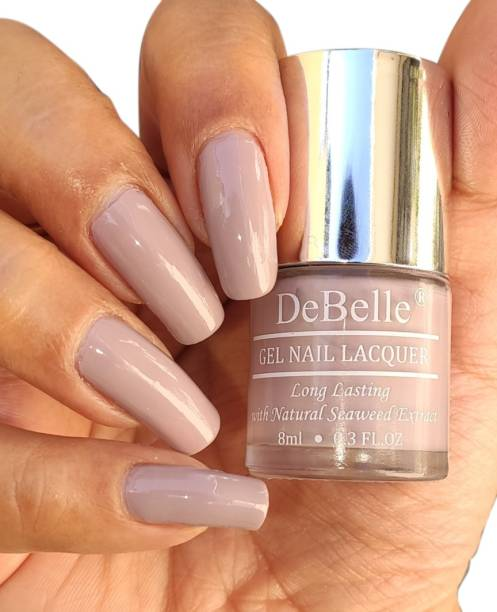 DeBelle Gel Nail Lacquer Pastel purple -Nail polish 8ml Vintage Frost